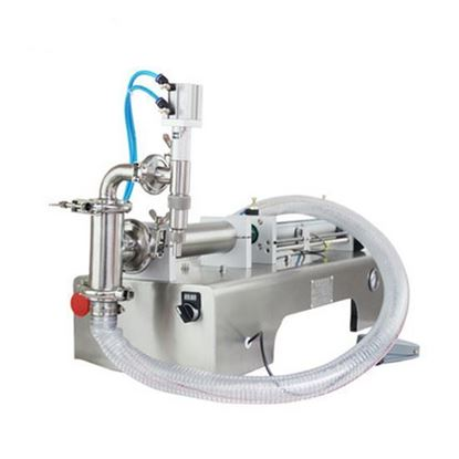 Picture of Semi Automatic Single Head Water Bottle Filling Machine Pneumatic