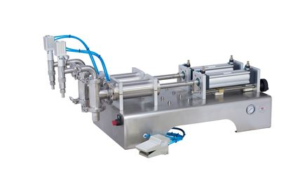 Picture of Two heads water filling machine for liquid only