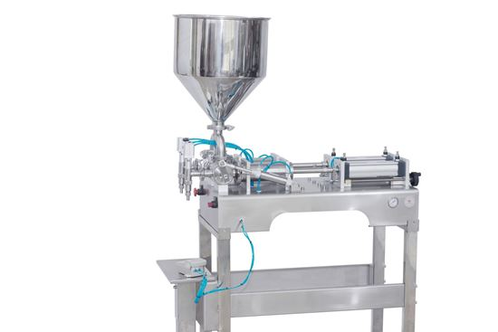 Picture of Stand type two heads  cosmetic filling machine