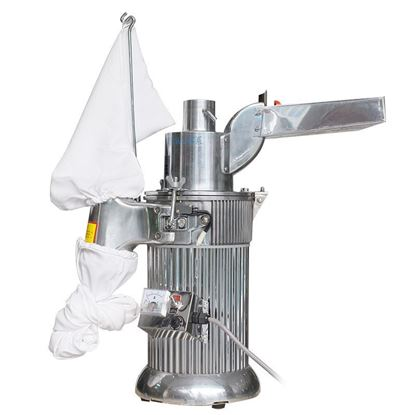 Picture of DF-20 Automatic continuous Hammer Mill Herb Grinder,pulverizer ,hammer grinder