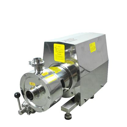 Picture of Industrial Horizontal shred emulsifier blender pump