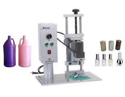 Picture of Table Electric Capping Machine plastic screws caps sealing machine