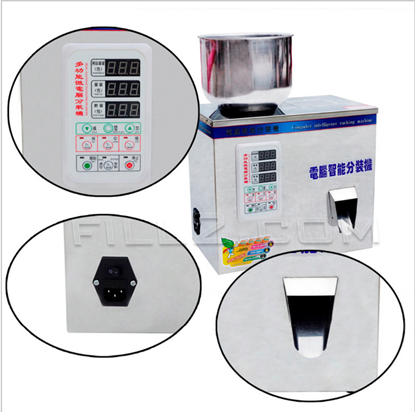 Picture of granule weighing machine